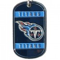 Personalized True Colors NFL Dog Tag  - Tennessee Titans