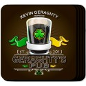 Personalized Coaster Set - Irish Pub