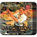 Personalized Coaster Set - Fishing Guide