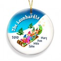 GC426 Elves Family of 4 Ornament