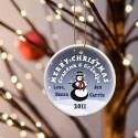 GC425 Snowman Merry Christmas Ornament