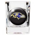 Personalized NFL Shot Glass - Baltimore Ravens