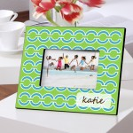 Color Brights Picture Frames - Blue Links Picture Frame