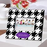 Color Brights Picture Frames - Houndstooth Picture Frame