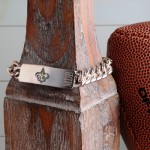 Personalized New Orleans Saints Fan Favorite Bracelet