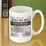 Father's Day Headline Coffee Mug