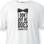 Personalized Groomsman T-shirt I Don't