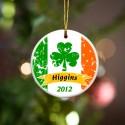 Personalized Irish Ornaments - GC848 Irish Pride Ornament