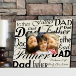 Dad-Father Frame - Parchment