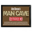 """Traditional Personalized Pub Signs - NEW!  Man Cave """"Defined"""" Pub Sign"""
