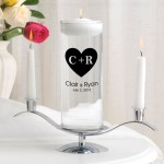 Carved Heart Floating Unity Candle Set (CP3)