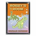 Personalized Dinosaur Room Sign