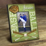 Personalized Batter Up! Picture Frame