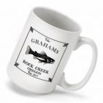 Cabin Series Coffee Mug - Trout Coffee Mug