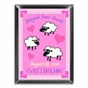 Personalized Counting Sheep Room Sign (Girl)