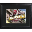 Personalized NFL Pub Sign with Wood Frame - Kansas City Chiefs