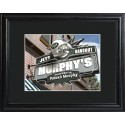 Personalized NFL Pub Sign with Wood Frame - New York Jets