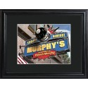 Personalized NFL Pub Sign with Wood Frame - Pittsburgh Steelers
