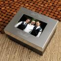 Personalized Lasting Memories Keepsake Box - Best Man/Groomsman