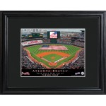Personalized Major League Baseball Stadium Print - Atlanta Braves