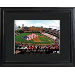 Personalized Major League Baseball Stadium Print - Baltimore Orioles