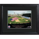 Personalized Major League Baseball Stadium Print - Chicago Cubs