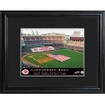 Personalized Major League Baseball Stadium Print - Cincinnati Reds