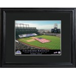 Personalized Major League Baseball Stadium Print - Colorado Rockies
