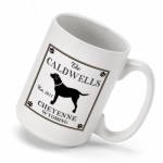 Cabin Series Coffee Mug - Labrador Coffee Mug
