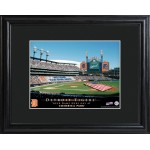 Personalized Major League Baseball Stadium Print - Detroit Tigers