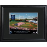 Personalized Major League Baseball Stadium Print - Kansas City Royals