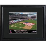 Personalized Major League Baseball Stadium Print - Los Angeles Angels