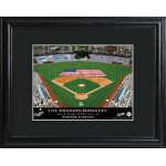 Personalized Major League Baseball Stadium Print - Los Angeles Dodgers