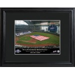 Personalized Major League Baseball Stadium Print - Milwaukee Brewers