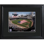 Personalized Major League Baseball Stadium Print - Minnesota Twins