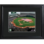 Personalized Major League Baseball Stadium Print - Oakland Athletics