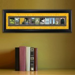 Collegiate Framed Architecture Print in Wood Frame - Appalachian State University