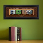 Collegiate Framed Architecture Print in Wood Frame - Bowling Green University