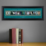 Collegiate Framed Architecture Print in Wood Frame - Coastal Carolina University