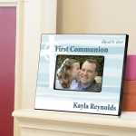Personalized First Communion Picture Frame - Celtic Blessings