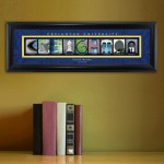 Collegiate Framed Architecture Print in Wood Frame - Creighton University
