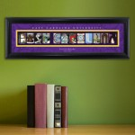 Collegiate Framed Architecture Print in Wood Frame - Eastern Carolina University