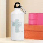 Personalized Angel of God Water Bottle