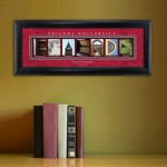 Collegiate Framed Architecture Print in Wood Frame - Friends University