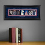 Collegiate Framed Architecture Print in Wood Frame - Gonzaga University