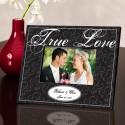 Personalized Black True Love Picture Frame