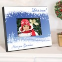 Personalized Snowscapes Picture Frame