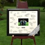 Personalized Celebrations Coach/Team Signature Frame