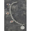 Personalized Precious Photos Charm Bracelet