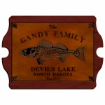 """Cabin"" Series Vintage Signs - Walleye Vintage Cabin Sign"